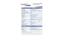 Crossover - Model CO730 - Dual-Channel Ground Penetrating Radar (GPR) Antenna - Technical Datasheet