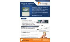 Elster - Model A1140 - Direct Connect Smart Meter - Brochure