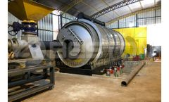 Tyre Pyrolysis Machines Save the Planet and Make Money