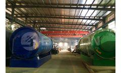 General Info Regarding The Plastic Pyrolysis Plant