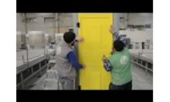 TOIPLAST | Plastic Toilet Cabin Assembly Process Video