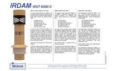 Model WST6000C - Weather Sensor Brochure