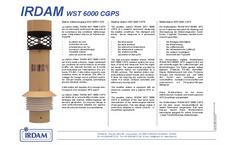 Model WST6000CGPS - Weather Sensor Brochure
