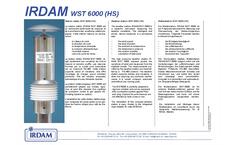 Model WST6000HS - Weather Sensor - Brochure