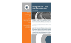 SludgeWatch Ultra Sludge Blanket Detection Datasheet