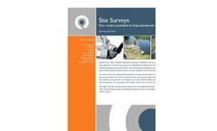 Site Survey Datasheet