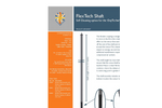 Mounting Shaft - OxyTechw2 GAL Sensor with Self Cleaning Option - Brochure