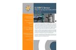 Partech - Model IL55BV2 - Suspended Solids and Sludge Density Sensor - Data Sheet