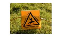 High Voltage Electrode Warning Covers