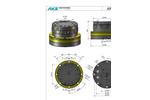 AVS - Model ARB 80-1 - Excavator - Datasheet