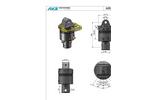 AVS - Model ARG 50-1DD - Hydraulic Rotator for Special Application - Datasheet