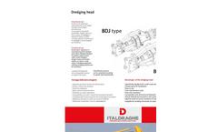BD Excavator Dredging Head - Datasheet