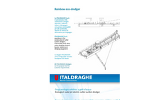 Rainbow Eco Suction Dredger - Datasheet