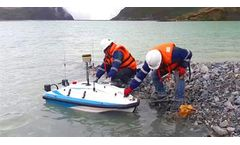 Unmanned surface vehicle solutions for tailings dam bathymetry survey
