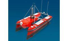 OceanAlpha - Model M40 - Autonomous Hydrographic Survey Boat