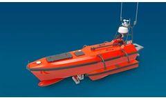 Oceanalpha - Model M80 - Autonomous Survey Boat