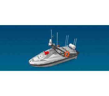 OceanAlpha - Model M300 - Autonomous Firefighting Vessel