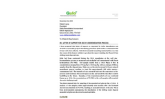 Gulo Environmental Reporting Site Closure at a Delta Remediated site