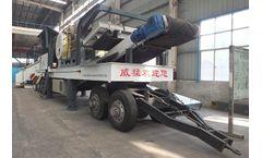 WINNER - Model SMC - Tire Type Mobile Crushing Plant