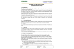 McBerns - VF & GM - Odour Filters Standard - Specification