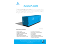 Aurelia - Model A400 - Small Gas Turbine - Brochure