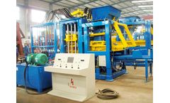 How Can A Cement Brick Machine Work?