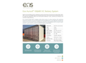 Eos Aurora - 150/600 DC Battery System - Brochure