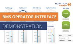 BMS Operator Interface Demo