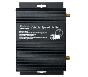 Sabo - Model SPG02B - Vehicle Speed Governor with GPS Car Tracking System