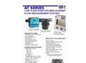Flomotion Systems - AT Series - Positive Displacement Oval Gear Flow Meter DataSheet