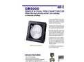 Flomation Systems - DR5000 - Single & Dual Pen Chart Recorders DataSheet