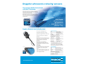 In-Situ - Model 850-AVS - Doppler Ultrasonic Area/Velocity Sensor Brochure