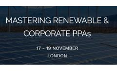 Mastering Renewable &  Corporate PPAs 2020