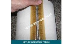 Keylife - Model 30961 - Sludge Dewatering Fabrics as Wet Filtration Media