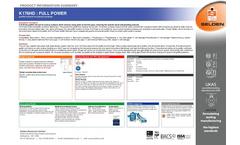 Model K176HD - Full Power Graffiti Remover for Porous Surfaces Brochure
