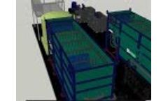 JNE Environmental 200 gpm at 6000 mg/L Double DAF System Video