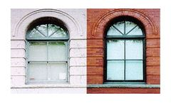 Ice blasting technology for building restoration and remediation