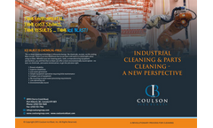 Coulson Ice Blast Industrial Cleaning - Brochure