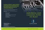 Coulson Ice Blast Deburring - Brochure
