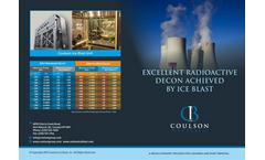Coulson Ice Blast Radioactive - Brochure