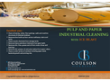 Coulson Ice Blast Pulp & Paper Industry - Brochure
