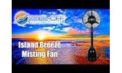 Island Breeze Misting Fan by Cool-Off - Video