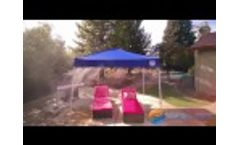 Misting Tents by Cool-Off - Combining the Powers of Shade & Mist for Complete Comfort Video