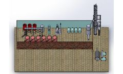 AKFEN MAKINA - Model AK-001 - Waste Engine Oil Recovery Plant