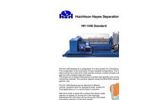 Model HH 1448 Standard - Horizontal Decanting Centrifuge (Decanter) Brochure