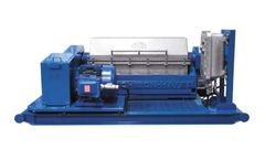 Model HH 1448 Standard - Horizontal Decanting Centrifuge (Decanter)