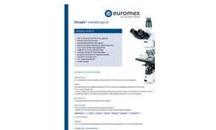 Microscopes - Materials Science Microscopes Brochure
