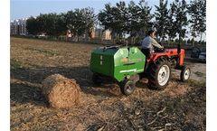 Hay Grass Baler Machine