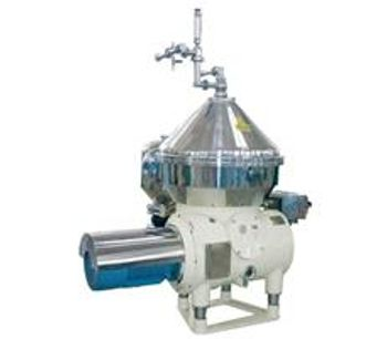 Crown-Machinery - Model DGS/DGC - Clarifying-Type Disc Stack Centrifuges