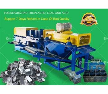 SUNY GROUP - Lead Battery Recycling Machine